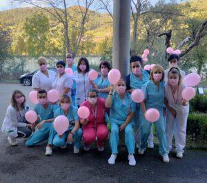 dia cancer de mama centro gerontologico ablaña mieres
